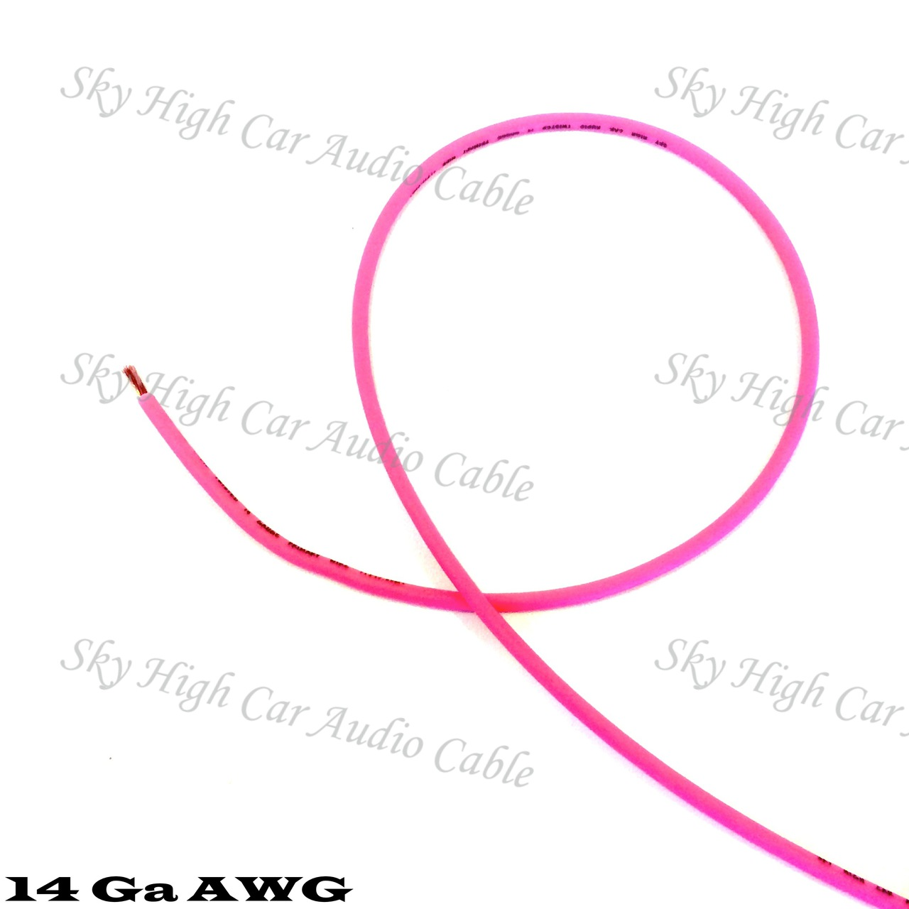 Sky High Car Audio CCA 14 Gauge Primary Wire 25ft-500ft