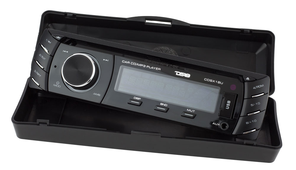 DS18 CDSX18U SINGLE DIN DETACHABLE CAR CD/USB/FM PLAYER