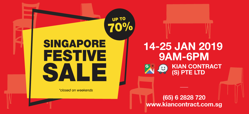 Singapore Festive Sale (14 - 25 JAN 2019) - Kian Contract SG
