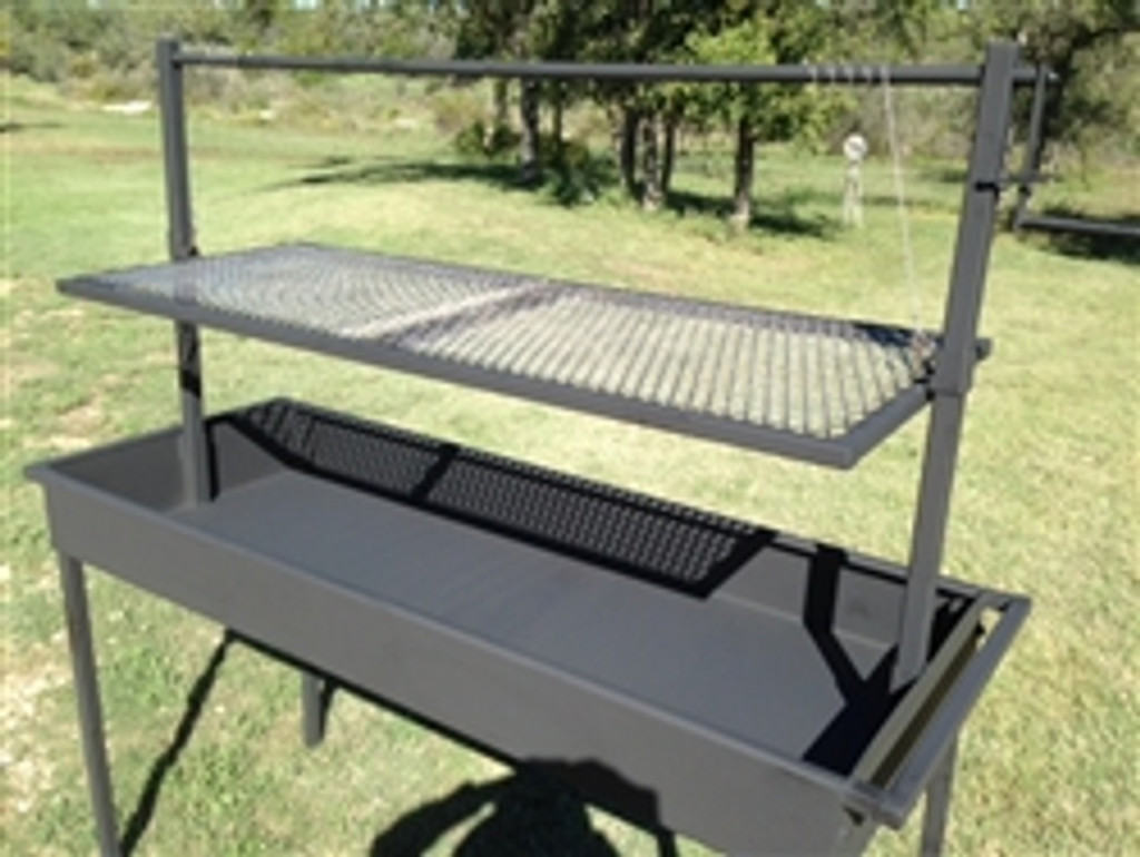 Superieur Charcoal Grill With Adjustable Grill Grate Click Here To Enlarge