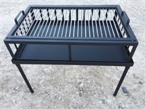 Portable Armado Grill and Griddle 36 x 24 x 30