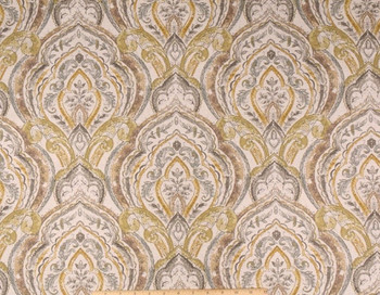 Discount Fabric Richloom Upholstery Drapery Linen Avaco Mercury Floral 40MM