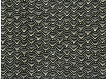 Discount Fabric Richloom Upholstery Drapery Radar Graphite Abstract Arches 23NN