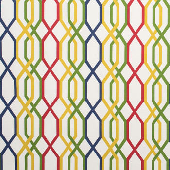 Discount Fabric Richloom Upholstery Drapery Adios Prism Geometric Lattice 31NN