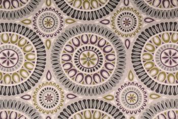 Discount Fabric Richloom Upholstery Drapery Linen Embark Flagstone Medallion 21OO