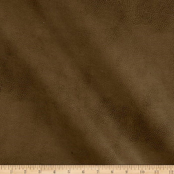 Discount Fabric Richloom Tough Faux Leather Pleather Vinyl Tiona Herb 13SS