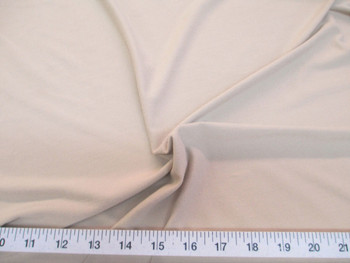 Discount Fabric Spandex Microfiber 4 way Stretch Nude 998LY