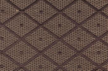 Fabric Robert Allen Beacon Hill Dotted Nets Earth Silk Diamond Upholstery 26*J