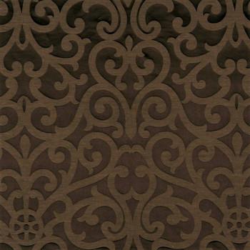 Fabric Robert Allen Beacon Hill Exhibition Walnut Silk Linen Drapery 21HH