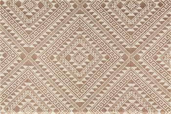 Fabric Robert Allen Beacon Hill Matte Raffia Flax Geometric Linen Upholstery 3II