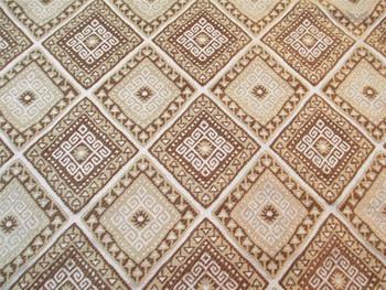 Fabric Robert Allen Beacon Hill Malvinas Teak Silk Tribal Aztec Drapery 40II