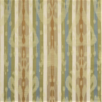 Fabric Robert Allen Beacon Hill Minnow Stripe Maple Ikat Jacquard Drapery 23II