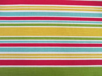 Discount Fabric Robert Allen Upholstery Drapery Mod Layout Calypso Stripe 13EE