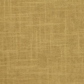 Discount Fabric Robert Allen Upholstery Drapery Linen Slub Amber Tan 31EE
