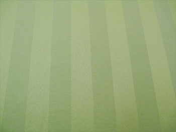 Discount Fabric Upholstery Drapery Brocade Satin Stripe Sage Green 40BB