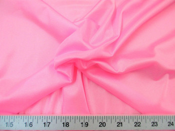 "Discount Fabric 108"" wide Aerial Silks Acrobatic Dance Stretch Tricot Bubblegum Pink 02TR"