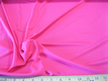 Discount Fabric Polyester Lycra /Spandex 4 way stretch Solid Perfect Pink 935LY