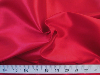 Discount Fabric Two Tone Iridescent Apparel Taffeta Cherry Red 04Taf
