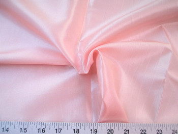 Discount Fabric Two Tone Iridescent Apparel Taffeta Blush Pink 08Taf