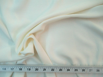 Discount Fabric BENGALINE Faille 60 inches wide Solid Ivory 106Ben
