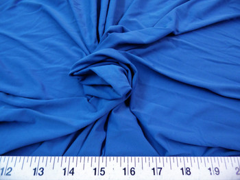 Discount Fabric Light Weight Lycra /Spandex 4 way stretch Slate Blue 717LY