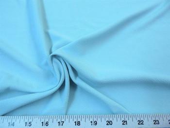 Discount Fabric Liverpool Textured 4 way Stretch Scuba Light Blue 08LP