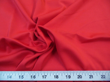Discount Fabric Techno Scuba Polyester Spandex 4 way Stretch Red 02TS