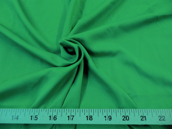 Discount Fabric Techno Scuba Polyester Spandex 4 way Stretch Kelly Green 03TS