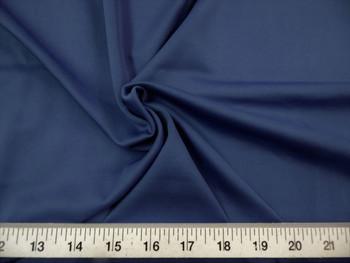 Discount Fabric Techno Scuba Polyester Spandex 4 way Stretch Navy 05TS