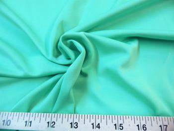 Discount Fabric Techno Scuba Polyester Spandex 4 way Stretch Mint Green 07TS