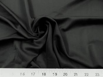 Discount Fabric Techno Scuba Polyester Spandex 4 way Stretch Black 08TS