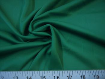 Discount Fabric Techno Scuba Polyester Spandex 4 way Stretch Emerald Green 09TS