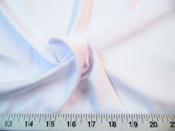 Discount Fabric Techno Scuba Polyester Spandex 4 way Stretch White 10TS
