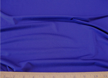 Discount Fabric Polyester Lycra /Spandex 4 way stretch Royal Blue Matt Finish 902LY
