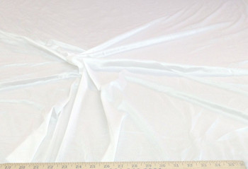 "Discount Fabric nylon Tricot stretch White 108"" wide PAY104"