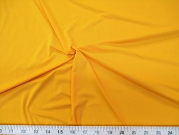 Discount Fabric Lycra /Spandex 4 way stretch  Yellow Matt Finish 906LY
