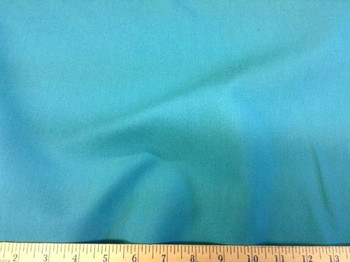 Discount Fabric Fine Twill Turquoise 03TW