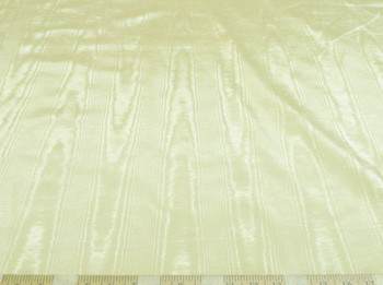 Discount Fabric Moire` Bengaline Faille Light Yellow 163MR