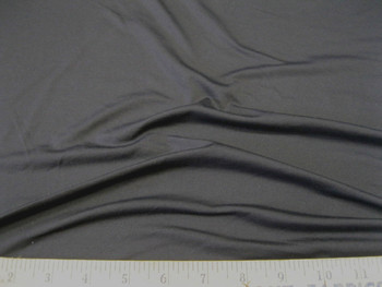 Discount Fabric Polyester Lycra /Spandex 4 way stretch Solid Slate Gray 855LY