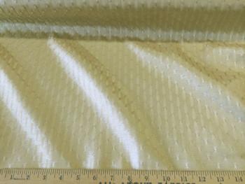 Discount Fabric Upholstery/Drapery Jacquard Light Gold Lattice DR03