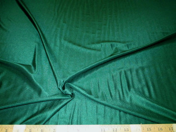 Discount Fabric Nylon Lycra Spandex 4 way stretch Solid Pine Green 09NLY