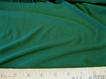 Discount Fabric Polyester Lycra /Spandex 4 way Pine Green 996LY