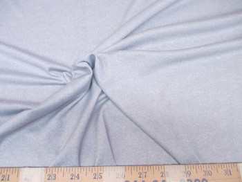 Discount Fabric Polyester Lycra /Spandex 4 way stretch Heather Gray Grey 953LY