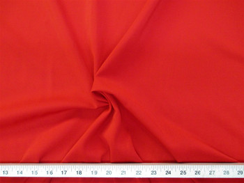 Discount Fabric Polyester Lycra /Spandex 4 way Super Stretch Red 994LY
