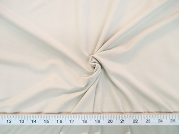 Discount Fabric Spandex Microfiber 4 way Stretch Cream 788LY