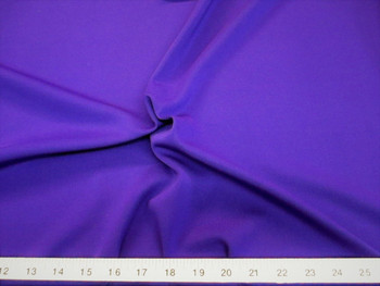 Discount Fabric Polyester Lycra /Spandex 4 way Super Stretch Purple 990LY