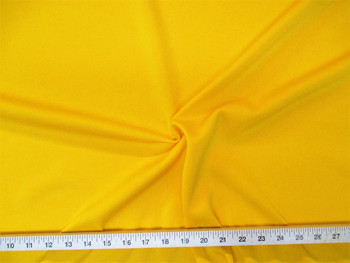 Discount Fabric NEOPRENE SCUBA TECHNO ATHLETIC 4 way Stretch Yellow 995LY