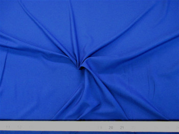 Discount Fabric Challis Apparel Top Weight Solid Royal Blue Soft and Flowing 17CH