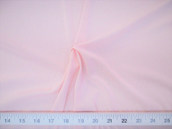 Discount Fabric Pale Pink PowerNet Mesh Spandex 4 way Stretch sheer 320PO