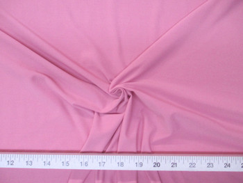 Discount Fabric Light Weight Lycra /Spandex 4 way stretch Blush Pink 703LY